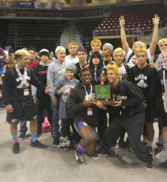 MHS wrestling Takes 3rd at state! 2016
