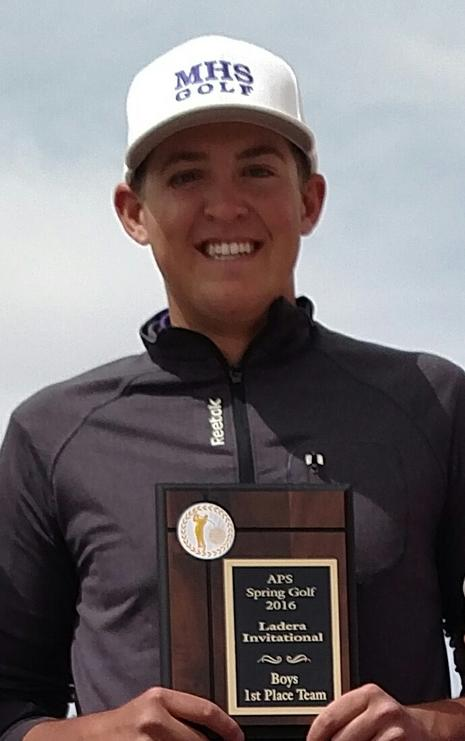 Bowen Davis Wins WMHS Ladera Golf Tournment